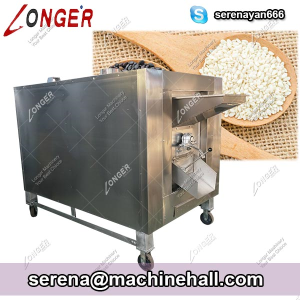 Small Scale Sesame Seeds Roasting Machine