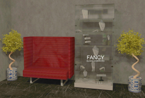 FRANCHESCA GLASS DISPLAY CABINET
