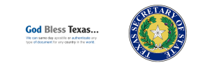 Texas Secretary of State Apostille and Authentication Services