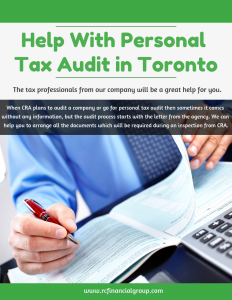 Help with Personal Tax Audit in Toronto