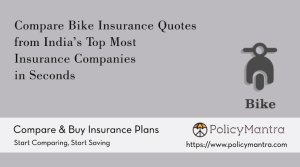 Compare and buy Bike Insurance online | PolicyMantra