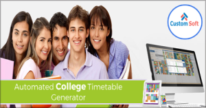 Automated College Time Table Generator by CustomSoft