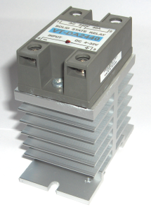 Din rail mountable solid state relays