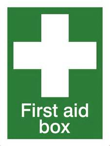 Domestic First Aid Box
