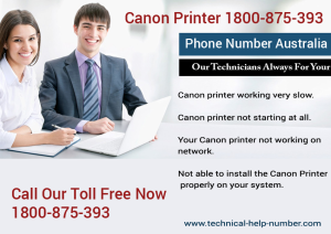 Customer Support for Canon Printer