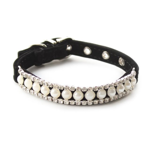 Pearl Cat Collar- reflective collars