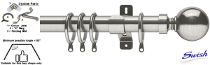 Try Now! Bay Window Curtain Poles - The Poles Company
