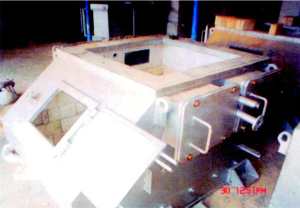 Holding Furnaces using Ceramic Boards