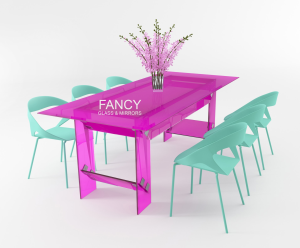 FATIQUE GLASS DINING TABLE