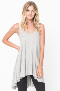 cross back tank top