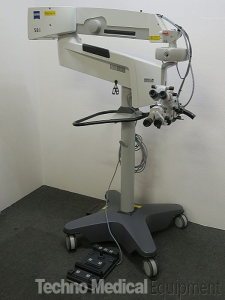 used Carl Zeiss OPMI Visu 210 S88 Surgical Microscope for sale (technomedicalequipment.com)