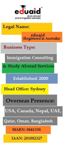Study abroad and Immigration services