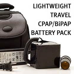 Lightweight CPAP and BIPAP Battery Pack