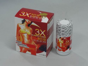 3X Slimming Power Weight Loss Pills