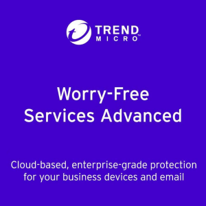 Trend Micro Worry Free Security Services Advanced 2-Year Subscription