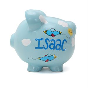 Airplane Piggy Banks