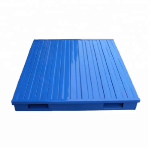Double Faced Stackable Warehouse Steel Powder Coating Metal Pallet for Sale