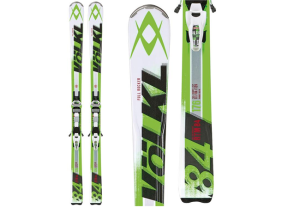 Volkl RTM 84 Skis + iPT Wide Ride 14.0 Bindings 2014
