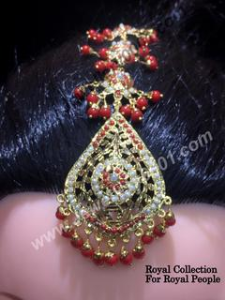 Kundan high quality gold platted tika