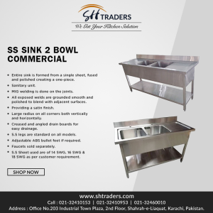 Commercial Stainless Steel Utility Sink | SH Trader