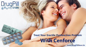 Cenforce Helps You Treat Erectile Dysfunction Easily