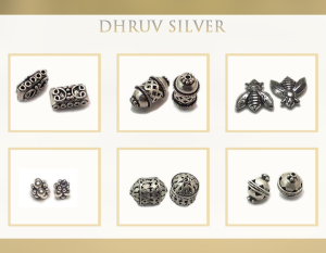wholesale silver bead findings in india