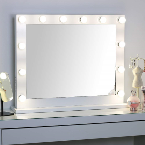 Wall Makeup Mirror Side-Mounted