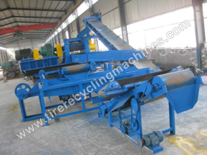 Large Scale Tire Recycling Line