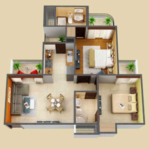 Amaatra Homes Noida Extension Floor Plan
