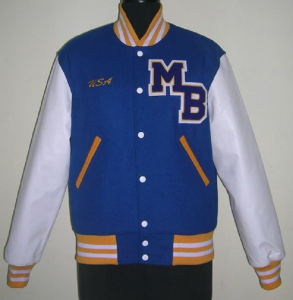 Customized Girl Personalized Varsity Jacket
