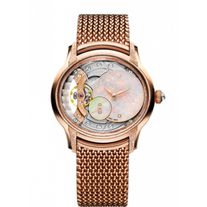 Shop Audemars Piguet Millenary Gold Opal Dial Watch