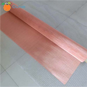 Red Copper Wire Mesh/Pure Copper Wire Mesh