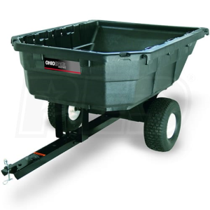 Ohio Steel 12.5 Cubic Foot Poly Dump Cart