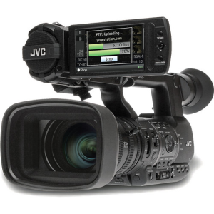 JVC GY-HM650 ProHD Mobile News Camera (IndoElectronic)