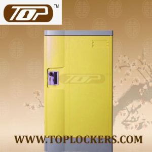 ABS Plastic School Locker, Strong Lockset for Security