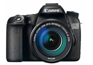 Bitcoin shop for Canon EOS 70D DSLR Camera with 18-135mm IS STM Lens