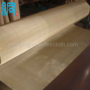 100mesh brass woven wire mesh wire cloth 0.10mm wire 1.0m wide