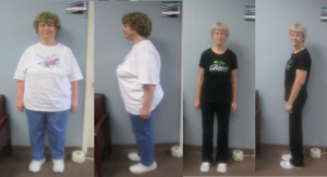 Cathy has lost over 80 pounds in 8 months!
