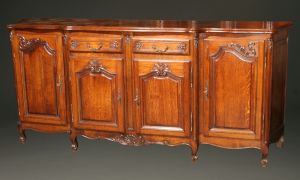 Beauchamp Antiques Is Launching A New Product - 19th Century French console Antique China Cabinet