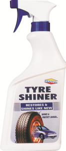 PRAFFUL TYRE SHINER SPRAY 525 ML