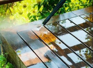 Fence & Deck Washing