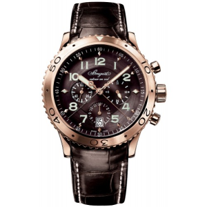 BREGUET leather brown watches for men