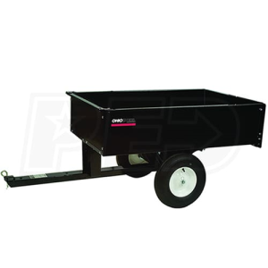 Ohio Steel 10 Cubic Foot Steel Dump Cart