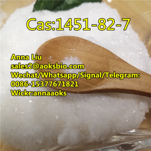 cas1451-82-7 powder, cas 1451-82-7 price, 1451-82-7, 1451 82 7,sales2@aoksbio.com,Whatsapp: 0086-153