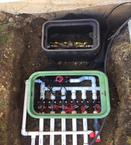 Irrigation Sprinkler Installation