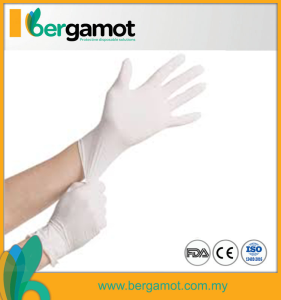 Latex Rubber Gloves Powder Free