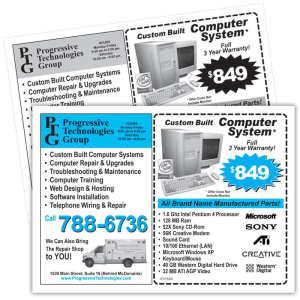 Graphic Design, Logo, Coupons, Brochures