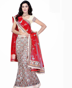 Bright Pink Lehega Choli at online shopping india