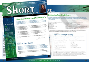 Graphic Design Newsletters for Print