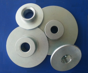 Cold forged and turned Loudspeaker metal parts
